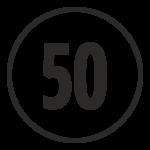 50 quantità